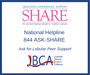 downloadable square image with SHARE helpline phone number and logos