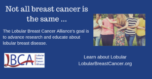 Lobular Breast Cancer Alliance Goal and website