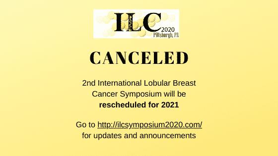 ILC symposium canceled