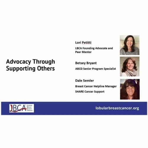 Advocacy opportunities at the federal level